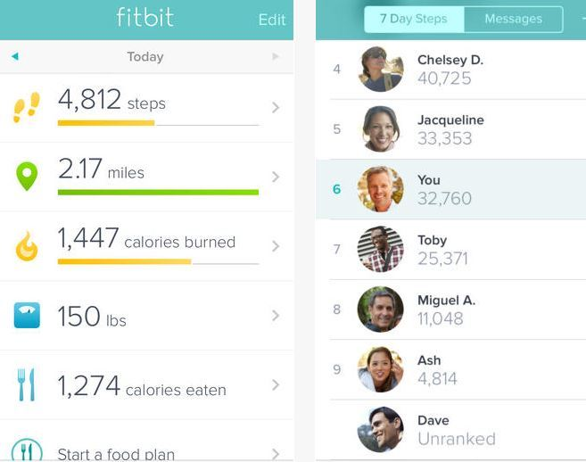 FitBit App Update: Use Your iPhone As Your Fitness Device