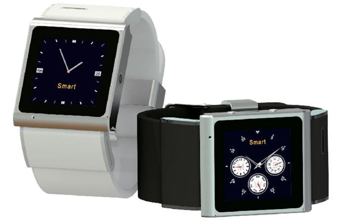 Ares Wristwatch + Android Smartphone