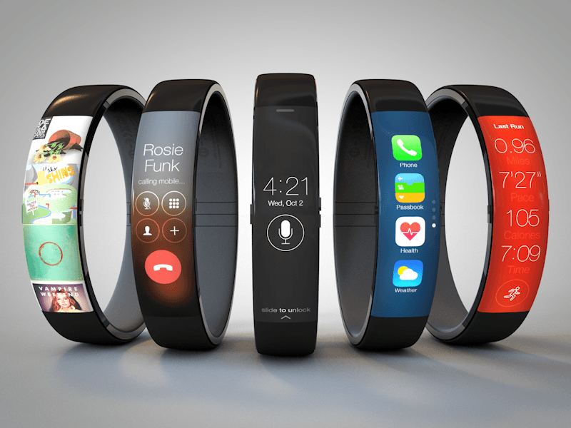 Fitness Band Like iWatch Concept