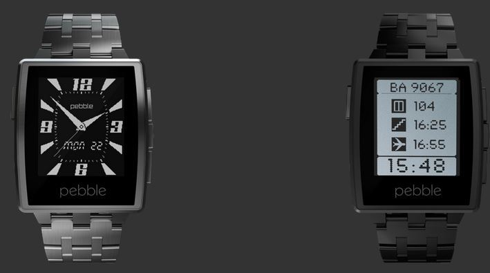 Pebble Steel Is Here
