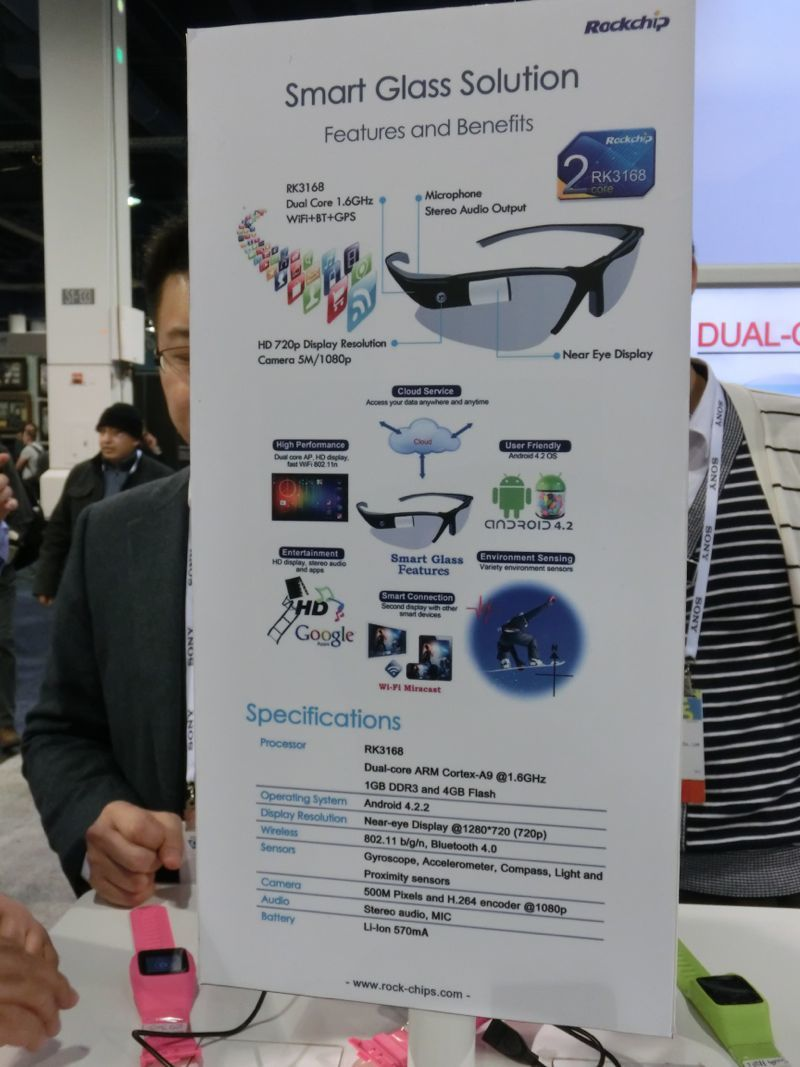 Rockchip Working On Chinese Google Glass?