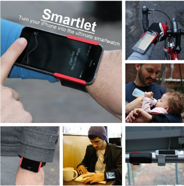 Smartlet: Turn Your iPhone into an iWatch