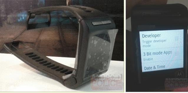 Motorola's Smartwatch Leaked