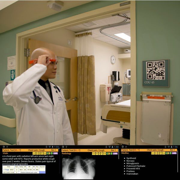 Google Glass To Look Up Patient History?