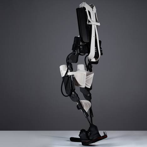 3D-printed Exoskeleton Helps Paralysed Users Walk