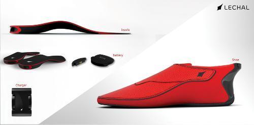LECHAL Interactive Haptic Based GPS Shoes