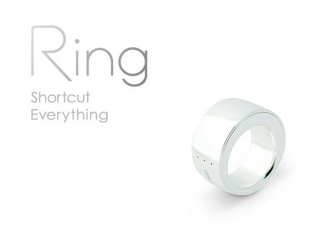 Ring Wearable Input Device