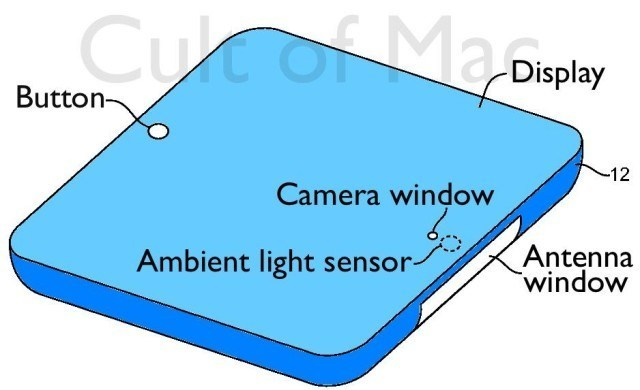 iWatch with Built-in Camera & Ambient Light Sensors?