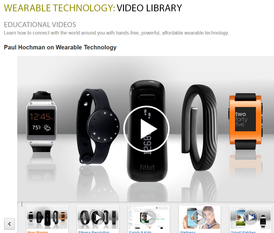 Amazon's Wearables Store: Buy & Learn