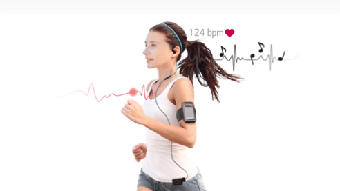LG HRM Earphone + Heart Rate Monitor