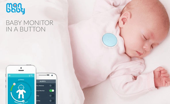 monbaby smart wearable baby monitor cool wearable. Black Bedroom Furniture Sets. Home Design Ideas