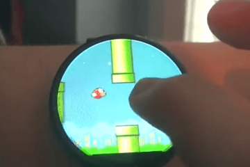 Playing Flappy Bird on Android Wear