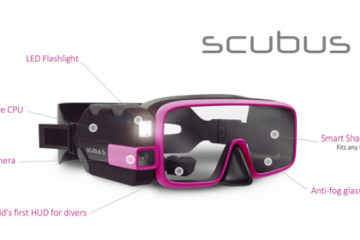 Scubus S: Augmented Reality Scuba Diving Mask