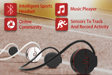 Primo 3 Sports Headset: Activity Tracking + Music