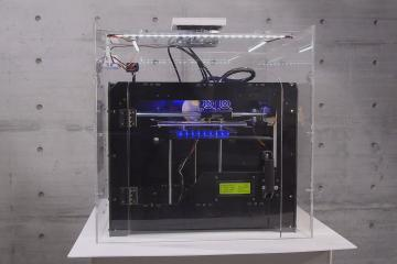 KappaKit Fume Hood w/ Fan for Your 3D Printer