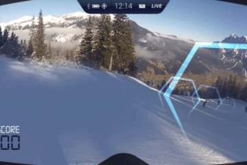 RideOn AR Goggles for Snow Sports