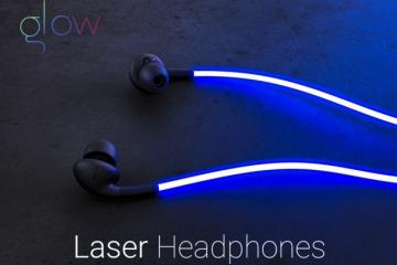 Glow Headphones Have Laser Light & Heart Rate Monitor