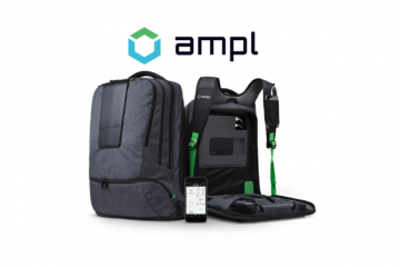 AMPL Smart Backpack: Charger + Anti-Lost Function + Bluetooth