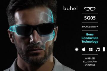 SOUNDglasses: Sunglasses w/ Bluetooth & Bone Conduction Tech