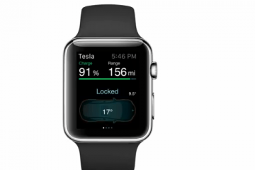 Apple Watch App for Tesla Model S Cars