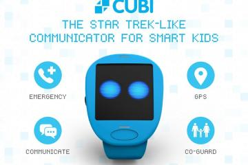 Cubi: Star-Trek Like Smartwatch for Kids