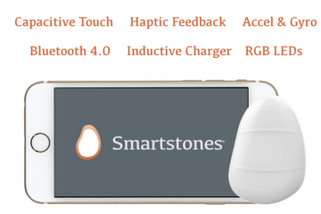Smartstones Touch: Wearable Device To Send Messages with Gestures
