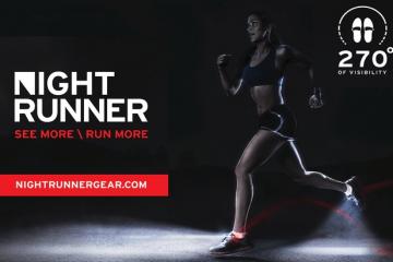 Night Runner 270° Shoe Lights for Night Running