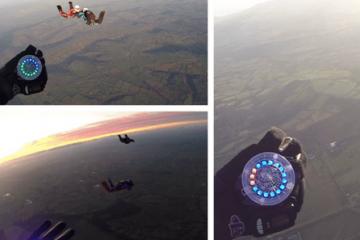 Tritium Skydiving Altimeter Wearable