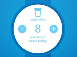 Hydrate Me for Android Wear