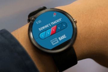 Domino's Pizza for Pebble & Android Wear