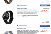 Huawei Watch To Cost €349?