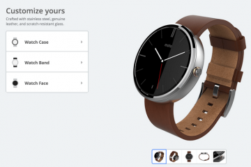 You Can Now Customize Your Moto 360 Watch
