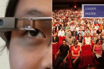 Using Google GLASS for Public Speaking Training