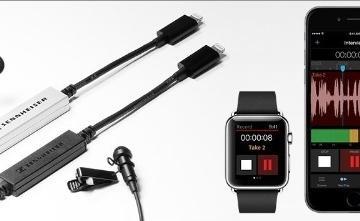 Apogee MetaRecorder App for iPhone & Apple Watch