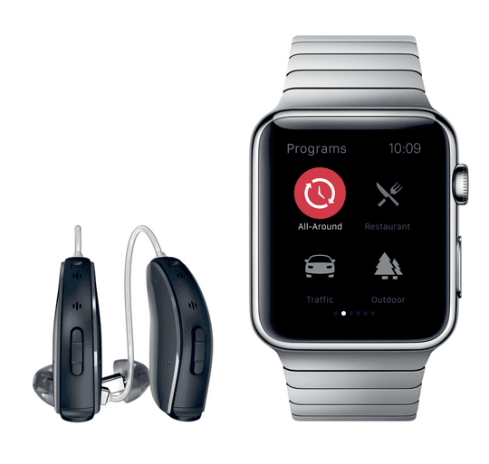 resound linx 2 hearing aid gets apple watch app cool wearable. Black Bedroom Furniture Sets. Home Design Ideas