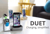 Duet: Apple Watch & iPhone Charging Dock