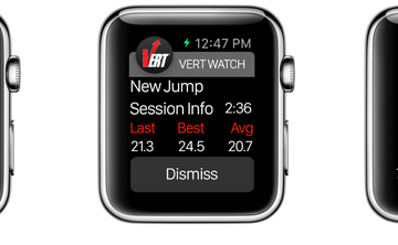 VERT Jump Monitor Now Compatible with Apple Watch