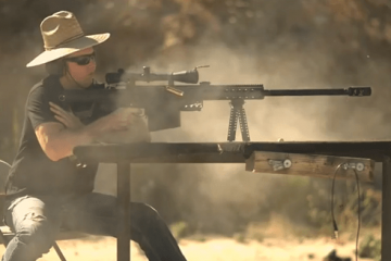 Shooting an Apple Watch [50 Cal]