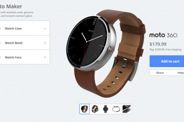 Moto 360: Now Only $180