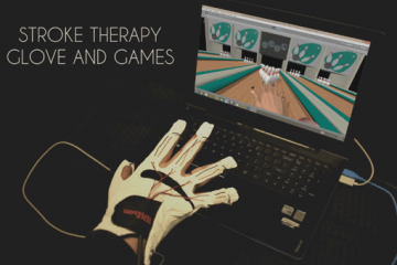 Leap Motion Haptic Therapy Glove