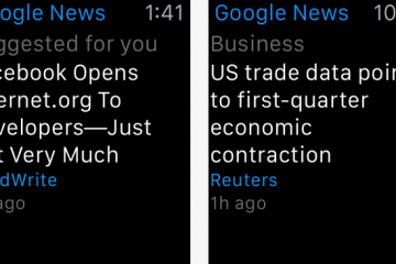Google News & Weather for Apple Watch