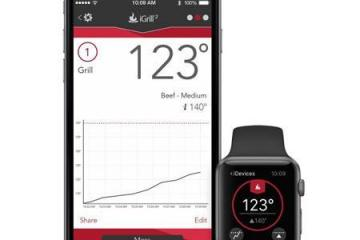 iDevices: Monitor Your Food Temperature from Your Apple Watch