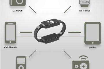 Boost Band: Power Bank Wristband