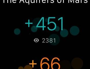 Wattpad for Apple Watch: Track Author Stats