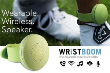 WristBoom: Wireless + Wearable Speaker