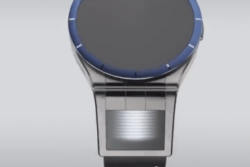 Magic View Smartwatch with a Virtual Display
