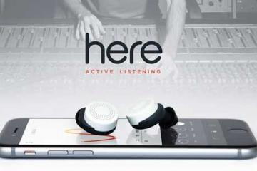 Here Active Listening System: Wireless Earbuds + App