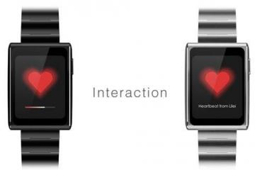 GYENNO Smartwatch: Send Your Heartbeat to Others