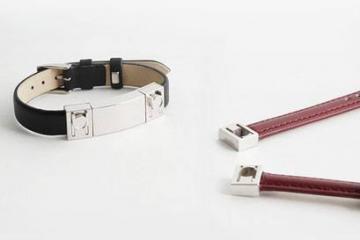 Helen Smart Bracelet w/ Auto Reply, Vibration, Custom Straps