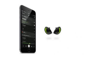 Gogo-S Waterproof Earbuds w/ Heart Rate Monitoring & Coaching